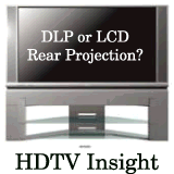 dlp or lcd rear projection