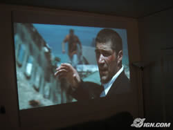 hdtv projector screen